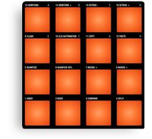 DJ - Drum Pad / Beat Pad  Canvas Print