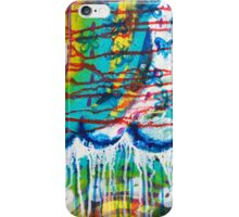 The Dance of the Elements: Inner Power Painting iPhone Case/Skin