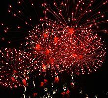 Fireworks by Gilda Axelrod
