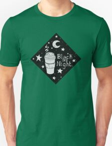 Coffee, Black As Night T-Shirt