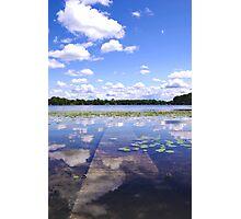 Sunken Dock Photographic Print