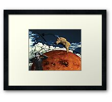Aries rising Framed Print