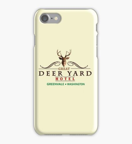 Deadly Premonition - Great Deer Yard Hotel iPhone Case/Skin