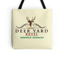 Deadly Premonition - Great Deer Yard Hotel Tote Bag