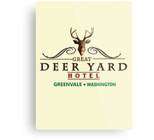 Deadly Premonition - Great Deer Yard Hotel Metal Print