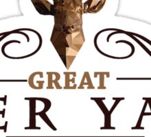 Deadly Premonition - Great Deer Yard Hotel Sticker