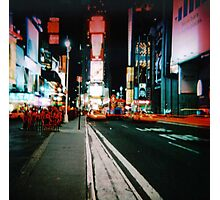 Times Square 2 Photographic Print