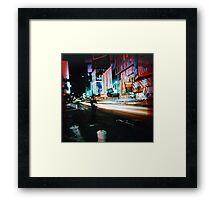 Times Square (3) Framed Print