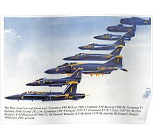 Blue Angels 1946 - 2004 Poster