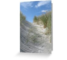 What's over the dune? Greeting Card