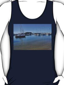 Lyme Harbour , Dorset. UK T-Shirt