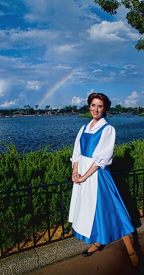 Belle's Rainbow by LeeDukes