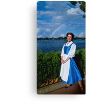 Belle's Rainbow Canvas Print