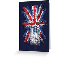 British Time Travellers Greeting Card