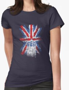 British Time Travellers Womens Fitted T-Shirt