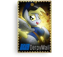 Derpy Hooves - Muffin Mail Mare! Canvas Print