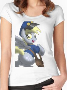 Derpy Hooves - Muffin Mail Mare! Women's Fitted Scoop T-Shirt
