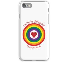 unity in diversity iPhone Case/Skin