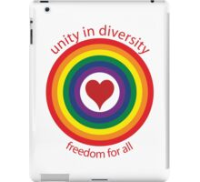 unity in diversity iPad Case/Skin