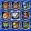 Megaman 5 boss select by Funkymunkey