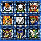 Megaman 6 boss select by Funkymunkey