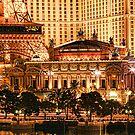 Paris or Las Vegas by Don Despain