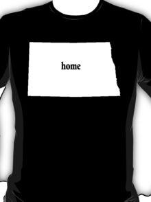 Original North Dakota Home - Tshirts T-Shirt
