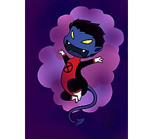 Chibi Nightcrawler Photographic Print