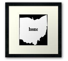 Original Ohio Home - Tshirts  Framed Print