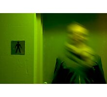 Men's room Photographic Print