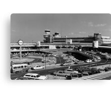 BW Germany Berlin The Tegel Airport 1970s Canvas Print
