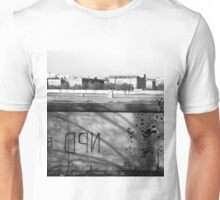 BW Germany Berlin wall 1970s Unisex T-Shirt