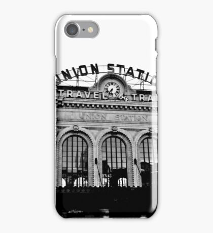 Union Station in Denver iPhone Case/Skin