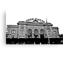 Union Station in Denver Canvas Print
