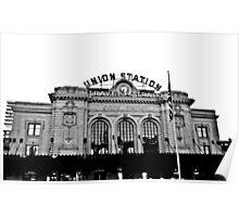 Union Station in Denver Poster