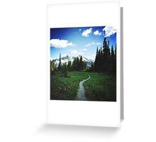 Skyline Trail Greeting Card