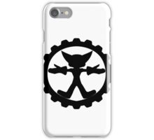 Ratchet and Clank's shield logo iPhone Case/Skin