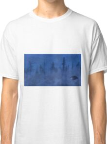 UFO In the Mist Classic T-Shirt