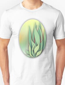 Abstract Plant in the Summer Unisex T-Shirt