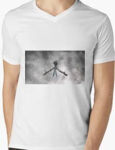 Alien by Raphael Terra Mens V-Neck T-Shirt