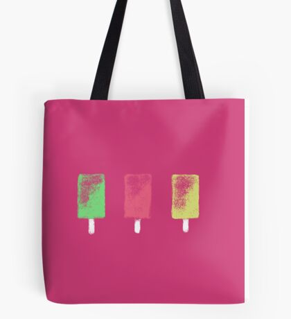 Bright Ice Lollies Tote Bag