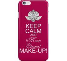 Keep Calm and Moon Eternal Make -up iPhone Case/Skin