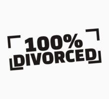 100% divorced Kids Clothes