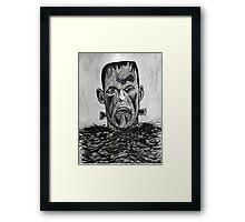 son of frankenstein Framed Print