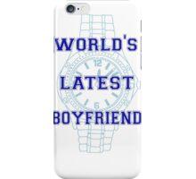 World's Latest Boyfriend iPhone Case/Skin