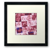 Raw Grid in DPA 01 Framed Print