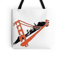 San Francisco Giants Stencil Team Colors Tote Bag