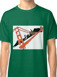San Francisco Giants Stencil Team Colors Classic T-Shirt
