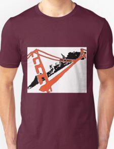San Francisco Giants Stencil Team Colors Unisex T-Shirt