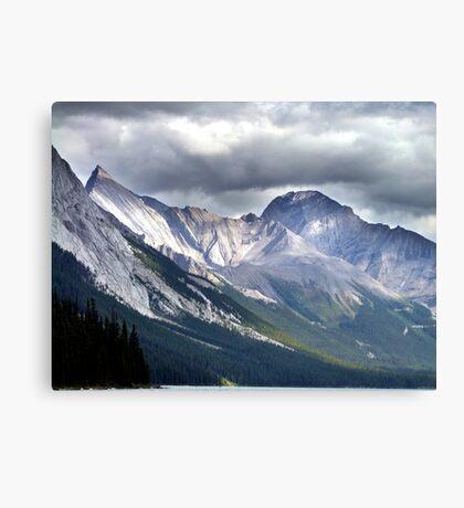 Rocky Mountain Peaks Canvas Print